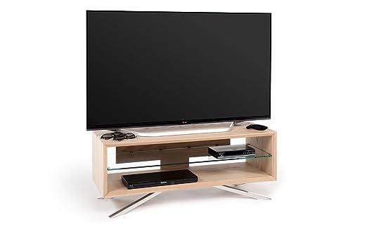 """Techlink Arena AA110L Meuble TV pour écrans jusqu'à 50"""" Chêne (Import Royaume Uni)"""