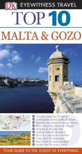 DK Eyewitness Travel Guide to Malta and Gozo (Top 10)