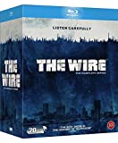 The Wire - The Complete Season 1-5 [Blu-ray] [Region Free, Nordic Import)