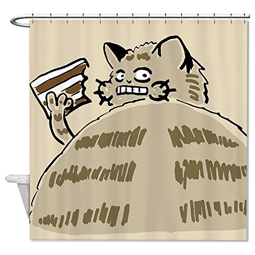 [HANHAOKI Food For Thought Bath Decro Waterproof Polyester Fabric Bathroom Shower Curtain liner] (Well Thought Out Halloween Costumes)