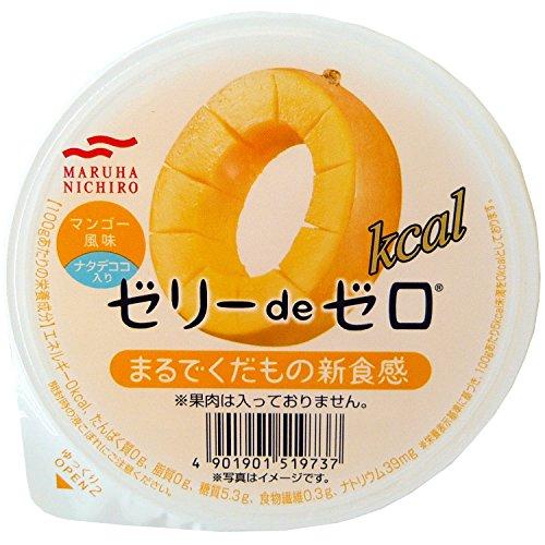 マルハ ゼリーdeゼロ マンゴー風味 180g×6個