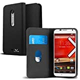 Motorola Moto X Play Case, VALKYRIE Motorola Moto X Play Flip Slim Wallet Case For Motorola Moto X Play With Card...