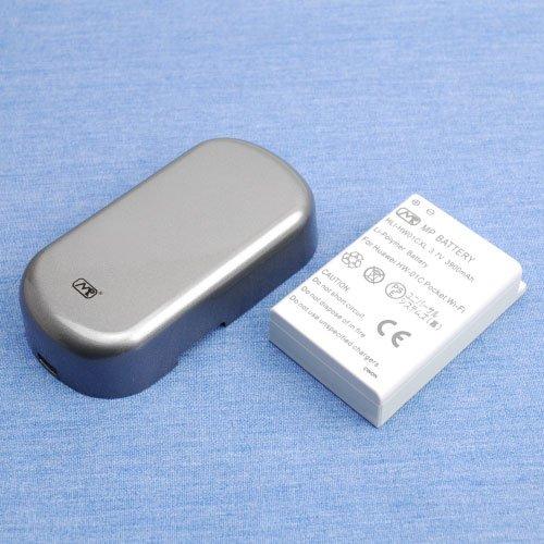 PSE認証済超大容量バッテリーパック for モバイルWi-Fiルーター HW-01C