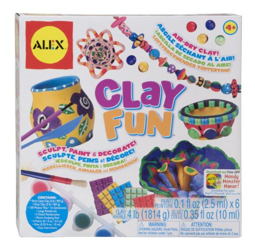 alex-clay-fun-airdry-clay-sculpture-kit