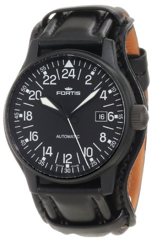 Fortis Men's 596.18.41 L.01 Flieger Automatic 24 Hour Display Watch