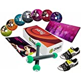 ZUMBA® Join the Party 2 Toning Sticks, 7 DVDs + 2 Carpet Glider