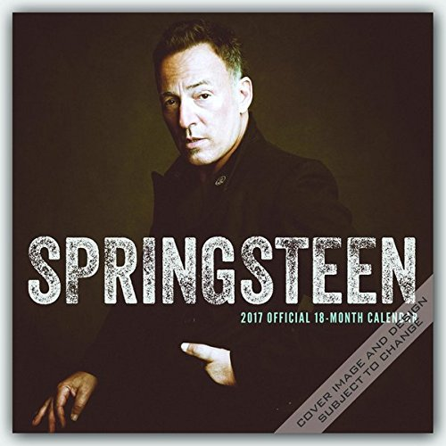 Bruce Springsteen 2017 - 18-Monatskalender: Original BrownTrout-Kalender