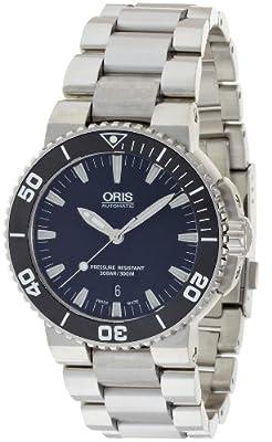 [オリス アクイス デイト]ORIS Aquis Date 腕時計 733 7653 4154M メンズ 【正規輸入品】