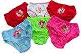 Disney Minnie Mouse 6 Pack Little Girls Knickers Ages 18 Months