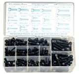 Precision Brand 190 Piece Socket Head Cap Screw Assortment