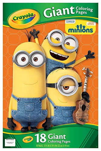 Crayola Giant Color Pages - Minions