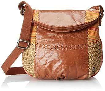 The Sak Deena Flap Cross Body Bag, Cayenne Patch, One Size