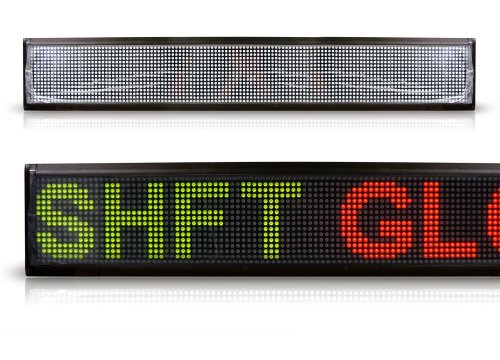 """16X128 Pixel Tri-Color Dot Matrix Led Scrolling Sign Indoors 40"""" Inches Display"""