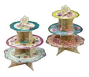 Talking Tables Talking Tables TS3-CAKESTAND Truly Scrumptious 3-Tier Cake Stand