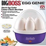 Big Boss 8864 Egg Genie Electric Egg Cooker, Purple