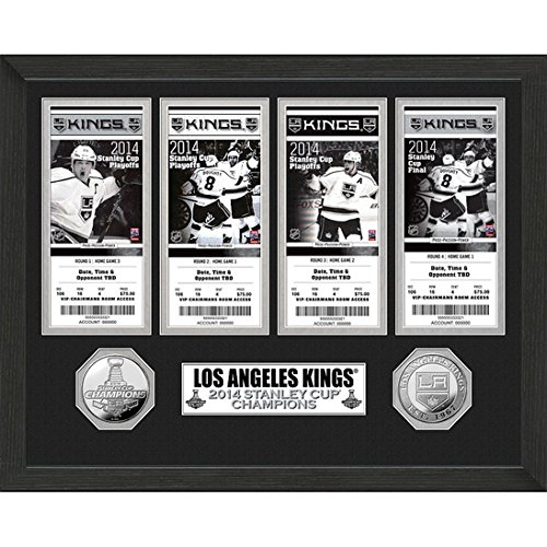 LA Kings 2014 Stanley Cup Champions Ticket Collection-By BlueTECH