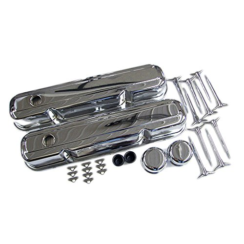 Assault Racing Products A3029 Mopar Small Block Chrome Dress Up Kit - SBM 273 318 340 360 LA (318 Engine Block compare prices)