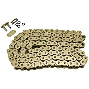 520 Pitch Gold O-Ring Chain 112 Links Suzuki DR-Z250 DR-Z400 E DR-Z400 S 2001-2007
