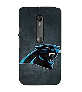 Vizagbeats Blue panther Back Case Cover for Motorola Moto g3