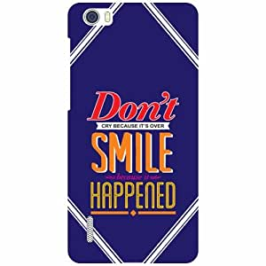 Huawei Honor 6 H60-L04 Phone Cover - Don'T Smile Matte Finish Phone Cover
