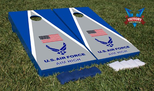 Us Air Force Aim High Cornhole Bean Bag Game Set Kristin