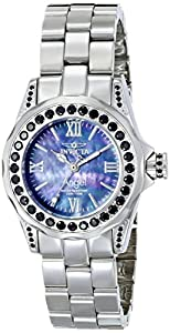 Invicta Women's 15052 Angel Analog Display Swiss Quartz Silver Watch