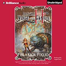 Agatha H. and the Voice of the Castle (       UNABRIDGED) by Phil Foglio, Kaja Foglio Narrated by Angela Dawe
