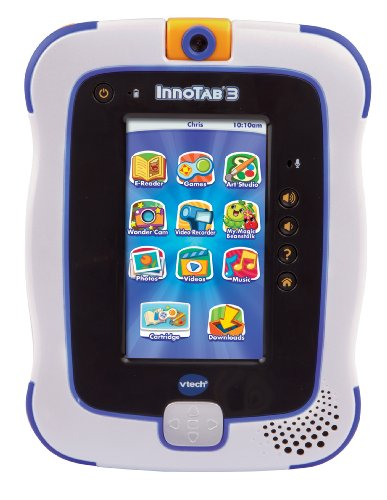 Vtech Innotab 3 The Learning App Tablet, Blue front-1053227