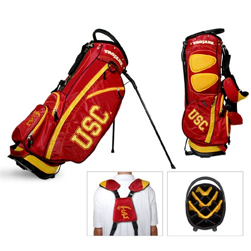 NCAA USC Trojans Fairway Stand Golf Bag - Team Golf at Amazon.com