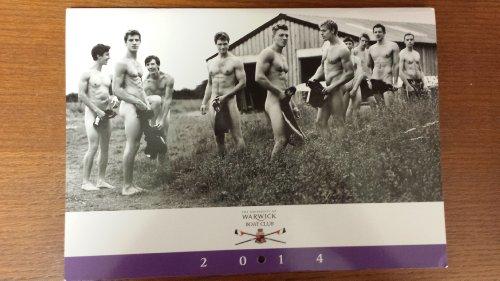 Warwick Rowing Men's Calendar 2014 (Yearly Calendar)