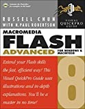 img - for Macromedia Flash 8 Advanced for Windows and Macintosh: Visual QuickPro Guide book / textbook / text book