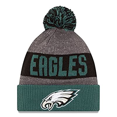 Philadelphia Eagles New Era 2016 NFL Official Sideline Sport Knit Hat