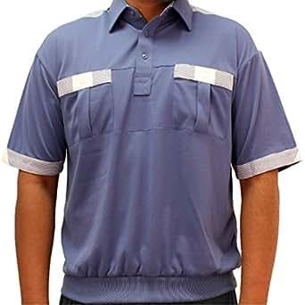 Classics By Palmland Knit Short Sleeve Banded Bottom Shirt