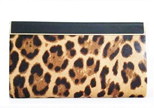 Jimmy-Choo-Damen-Clutch-braun-leopardenmuster