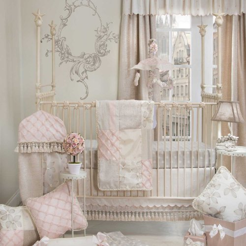 Glenna Jean Florence 3 Piece Crib Bedding Set