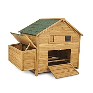 Aspen Pet 43104 Chicken Fort High Capacity Coop (Coop Only, Run Sold Separately)
