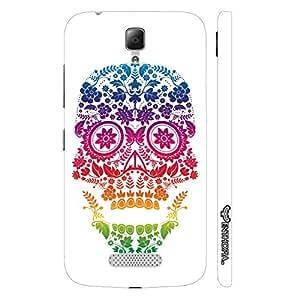 Lenovo A2010 Skull Art 3 designer mobile hard shell case by Enthopia
