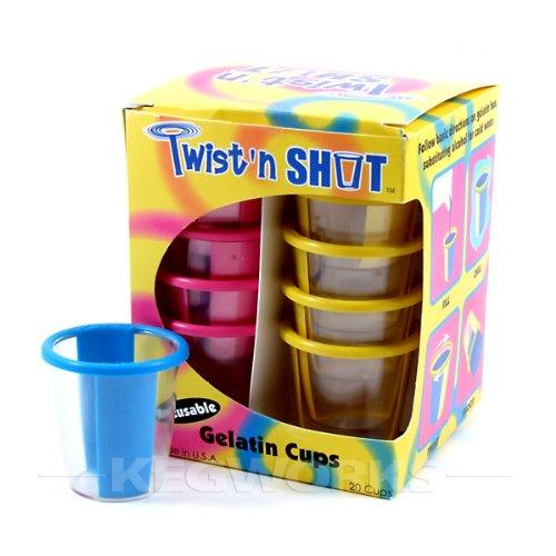 Jello Shot Cups Twist 39 n Shot Jello Shot Cups