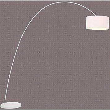design bogenlampe von design delights lounge stehlampe schwanenhals lampe weiss standlampe us115. Black Bedroom Furniture Sets. Home Design Ideas