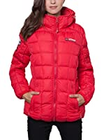 Geographical Norway Abrigo Corto Dana (Rojo)