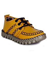 Naughty Ninos Yellow Sneakers For Boys Of 2 To 12 Years