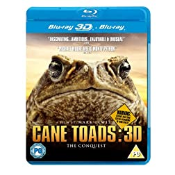 Cane Toads 3D-The Conquest - REGION FREE - UK Import [Blu-ray 3D + Blu Ray]