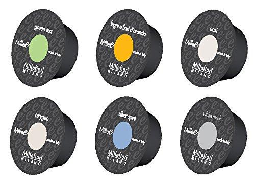 Millefiori カプセルディフューザー Milleーe センテッドカプセル リビングセレクション 12DME01