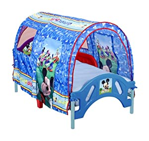 Amazon.com: Delta Enterprise Mickey Mouse Toddler Tent Bed ...