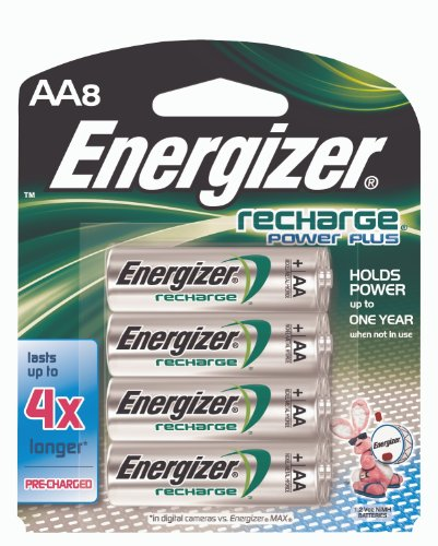 Energizer Rechargeable Batteries, AA Size, 8Count Picture