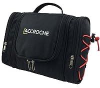 ACCROCHE Bret Toiletry Bag for Men and Women, Works as Best Shaving Dopp Kit, Portable Makeup Case, Hanging Washbag