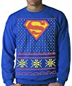 Official Superman Ugly Christmas Sweater Adult Crewneck