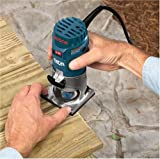 Factory-Reconditioned Bosch PR20EVSK-RT Colt Palm Grip 5.7 Amp 1-Horsepower Fixed Base Variable Speed Router with Edge Guide