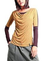 ZZ_Zergatik Camiseta Manga Larga Badu (Amarillo)