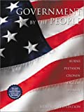 Government by the People, 2001-2002 (Brief 4th Edition) (0130315745) by James MacGregor Burns